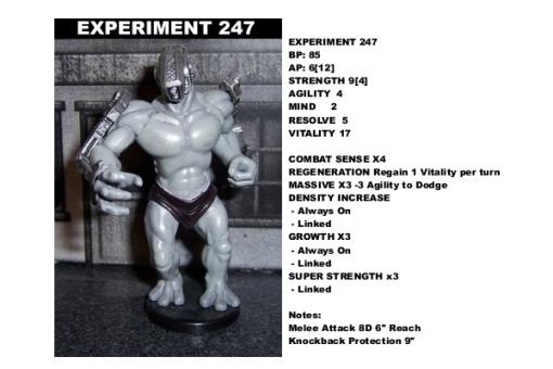 DataCard Experiment247