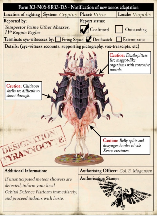 rannocyte Warning Poster