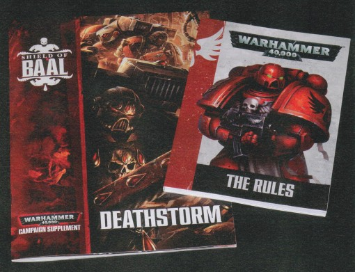 Shield Of Baal Deathstorm Books