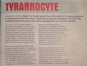 Tyrannocyte Fluff