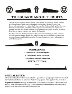 THe Guardians of Perdita Formation